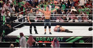 Nguli wa mieleka John Cena arejea rasmi kwenye WWE