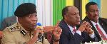 IGP Simon Sirro akiwa na Msajili wa Vyama vya Siasa