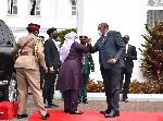 Rais Samia alivyoshiriki dhifa ya Kitaifa Ikulu Nairobi (+picha)