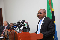 Waziri wa Maliasili na Utalii, Dr. Damas Ndumbaro