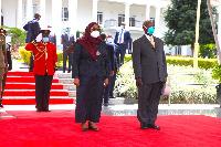 Historia nyingine Tanzania, Uganda