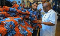 Waziri wa Viwanda, Prof Kitila Mkumbo akiwa kiwanda cha NIDA Dar es Salaam