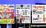Habari kubwa za Magazeti ya Tanzania leo November 26, 2020
