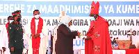 MKUU wa Kanisa la Kiinjili la Kilutheri Tanzania (KKKT), Askofu Dk. Fredrick Shoo