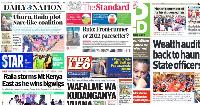 Magazeti Jumatatu, Oktoba 18: Raila aanza kufuta nyayo za Ruto na mfumo mpya