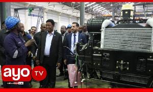Waziri Mkuu alivyofika kiwanda cha kutengeneza magari Kibaha (+video)