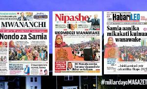 Habari kubwa za Magazeti ya Tanzania leo June 9, 2021