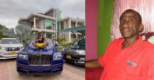 Babake Diamond asema hana haja ya kubebwa kwenye gari lake la Rolls Royce