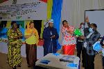 WAZIRI wa Afya, Dk Dorothy Gwajima akizundua mwongozo wa serikali