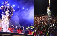 VIDEO: Diamond, Harmonize wateka mkesha wa mwaka mpya