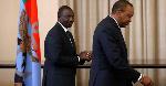 DP Ruto afungiwa nje ya Ikulu wakati wa makaribisho ya Suluhu Kenya