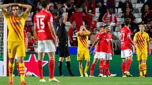Mechi baina ya Benfica dhidi ya Barcelona