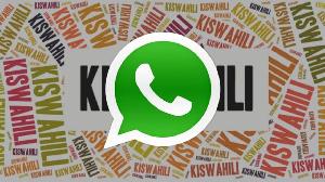 Rasmi WhatsApp ya kiswahili yaanza kutumika