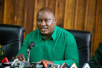 Katibu Mkuu wa CCM, Daniel Chongolo