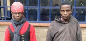 Mshukiwa wa wizi aliyevalia mithili ya mwanamke akamatwa