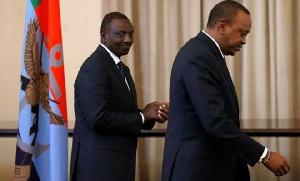 Panda shuka ya uswahiba wa Uhuru Kenyatta, Ruto