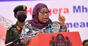 Rais wa Jamhuri ya Muungano wa Tanzania Samia Suluhu