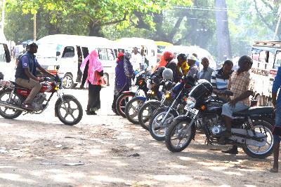 Usafiri wa bodaboda sasa rasmi Zanzibar
