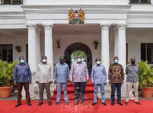 picha ya pamoja ya viongozi wa Siasa nchini Kenya