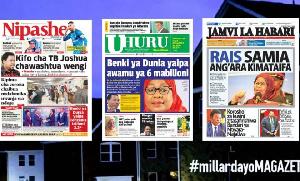 Habari kubwa za Magazeti ya Tanzania leo June 7, 2021