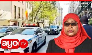 Tazama Msafara wa Rais Samia nchini Marekani, awasili New York (video+)