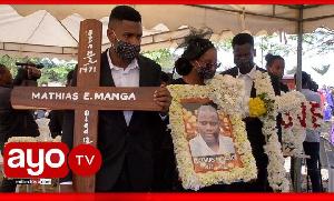 Tazama maelfu wajitokeza kumzika Bilionea Manga mkoani Arusha (Video+)