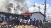 Breaking News: Ofisi za Kituo cha Tanesco Moro Zateketea - Video
