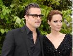 Angelina Jollie akiwa na mtalaka wake Brad Pitt's