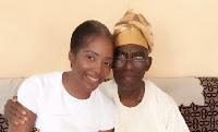 Msanii wa Nigeria Tiwa Savage afiwa na baba yake