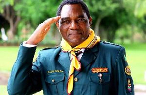 Hakainde Hichilema Rais Mteule wa Zambia