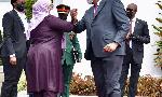 Picha 12 kutoka Kenya ziara ya Rais Samia akiwa na Kenyatta