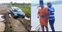 Polisi wapata mwili wa binti aliyeuawa, baada ya gari kukwama matopeni