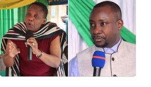Waziri wa Afya, Dorothy Gwajima na Mbunge wa Kawe Josephat Gwajima