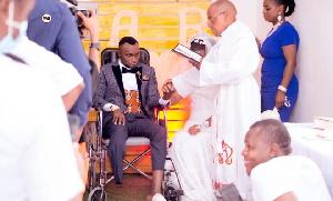 Exclusive:Wafunga Ndoa wodini baada ya mume kupata ajali na kukatwa mguu (video+)