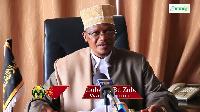 Mufti Mkuu wa Tanzania, Abubakar Zubeir