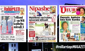 Habari kubwa za Magazeti ya Tanzania leo May 29, 2021