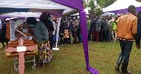Mumewe Caroline Kangogo akataa kuwahutubia waombolezaji