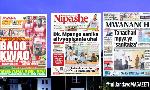 Habari kubwa za Magazeti ya Tanzania leo February 24, 2021