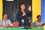 DC Jokate Mwegelo azindua chanjo hii wilayani Kisarawe