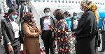 Rais wa Tanzania Samia Suluhu awasili nchini kwa ziara ya siku mbili