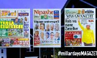 Habari kubwa za Magazeti ya Tanzania leo October 30, 2020
