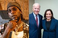 Burna Boy kusikika katika uapisho wa Joe Biden