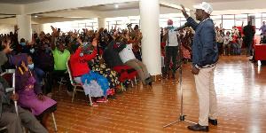 William Ruto asema serikali ya 2022 itaundwa na mahasla