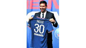 Nyota mpya wa PSG, Lionel Messi