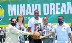 PICHA 13:DC Jokate ashiriki uzinduzi wa kiwanja cha Basketball Kisarawe