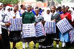 'Tujitokeze wengi kuwapa  wanafunzi taulo za kike'