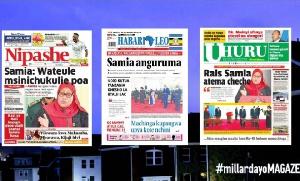 Habari kubwa za Magazeti ya Tanzania leo September 14, 2021