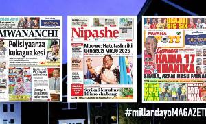 Habari kubwa za Magazeti ya Tanzania leo May 27, 2021