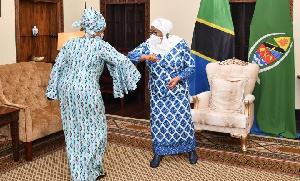 Mazungumzo ya Rais Samia na Msaidizi wa Katibu Mkuu UN