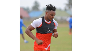 Mshambuliaji wa Azam FC, Idriss Mbombo